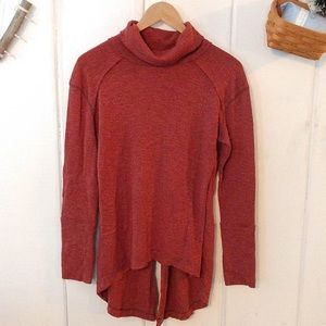 We the Free • red mock neck sweater